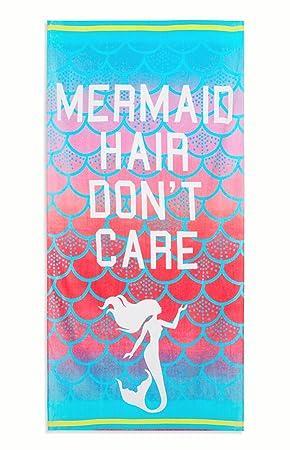 Disney Princess Ariel toalla de baño y playa Oficial de la Sirenita: Amazon.es: Hogar