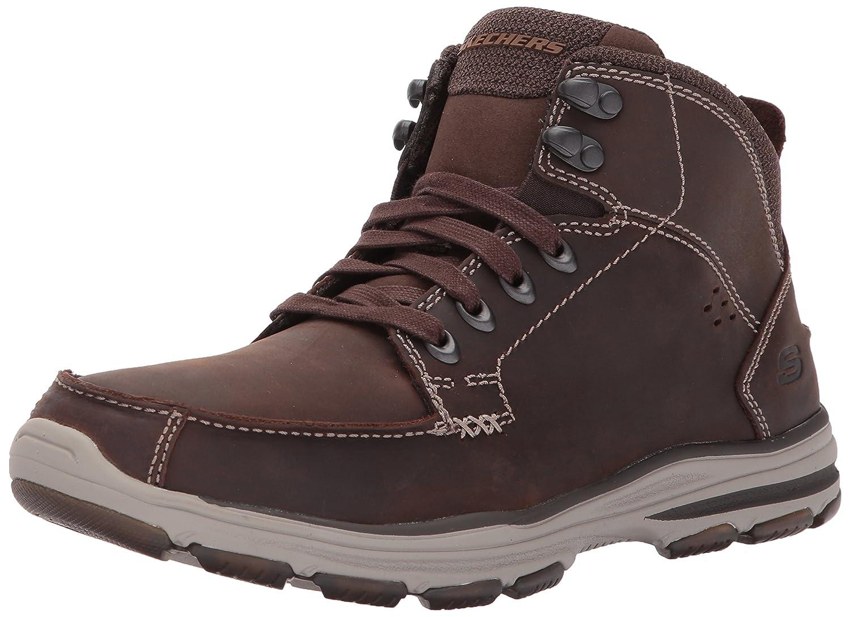Skechers (Skees) 64857, Zapatos Hombre, Marrón (Chocolate), 45 EU