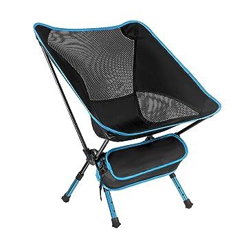 Sillas de Camp de FAMLOVE, resistentes, sillas plegables al ...