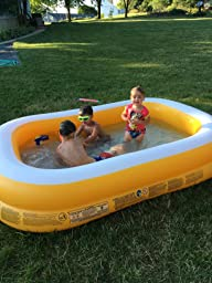 Intex mandarin swim center family pool 90 x for Koi intex pool