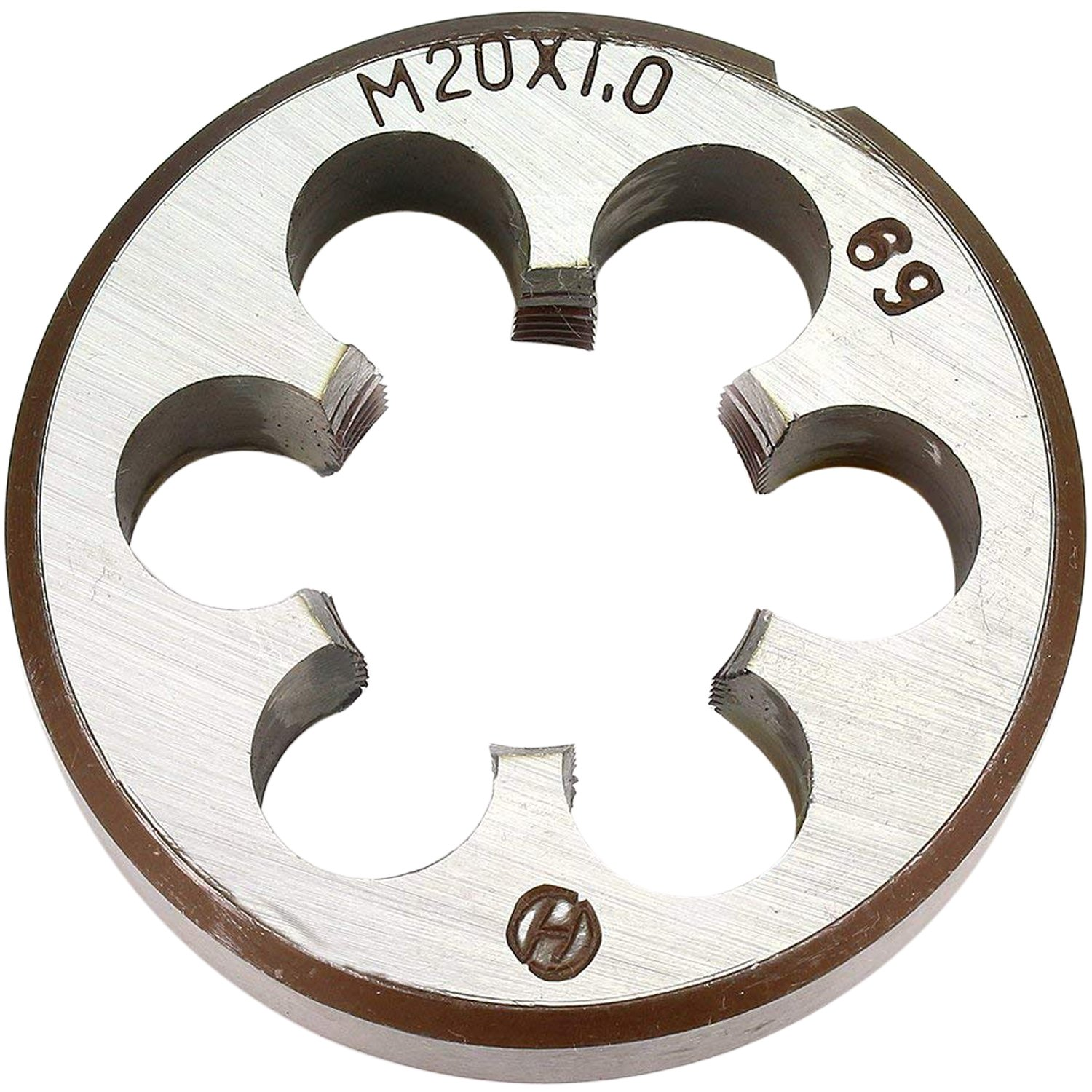 20mm X 1 Metric Right Hand Round Die, Machine Thread Die M20 X 1.0mm Pitch(Alloy Tool Steel Material, not HSS) by KMIAN TOOLS