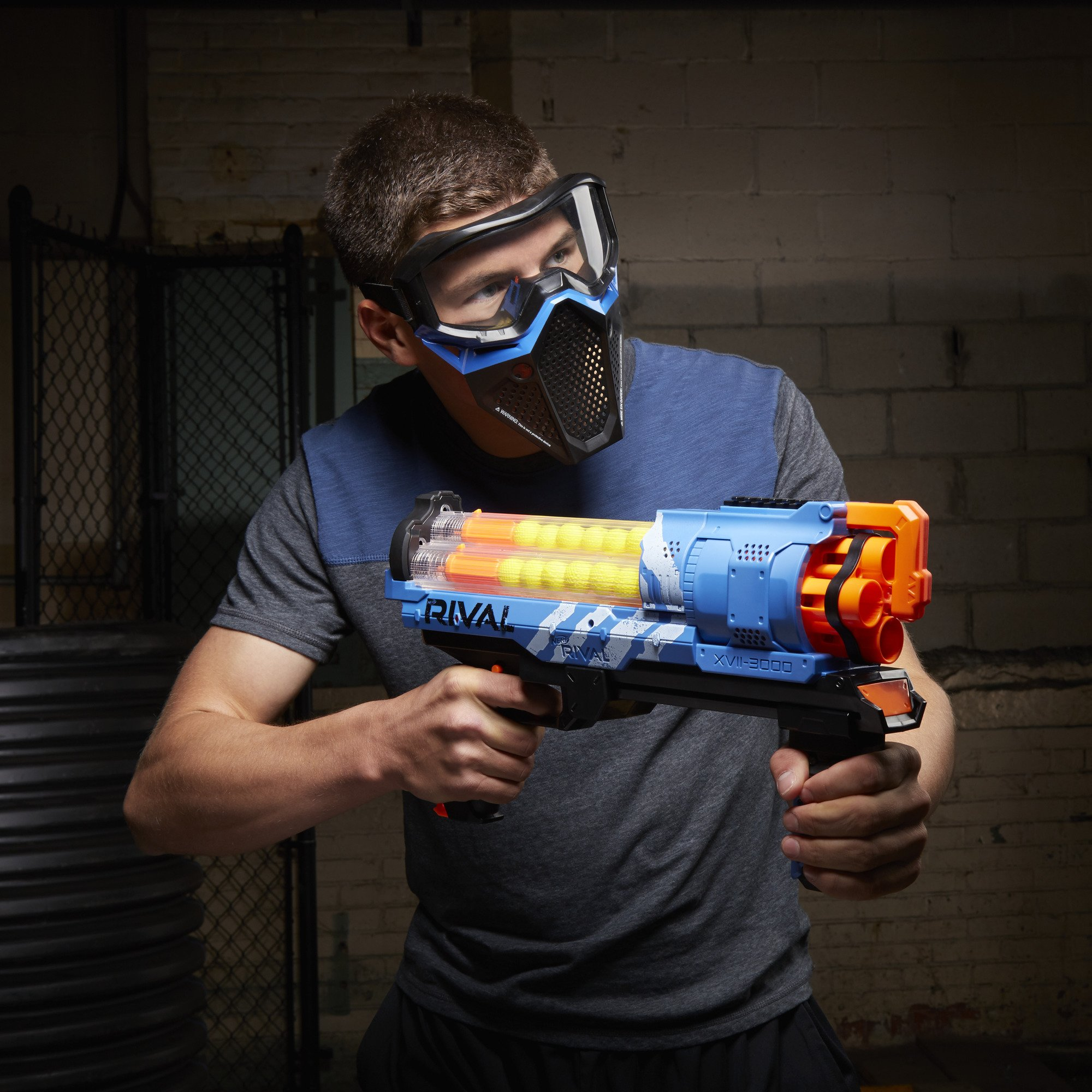 NERF Rival Artemis XVII-3000 Blue by NERF (Image #7)