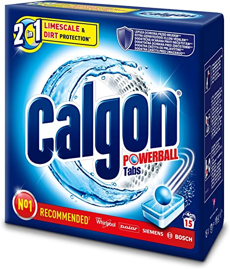Calgon Powerball 3En1 15 Detergente Lavavajillas En Pastillas ...