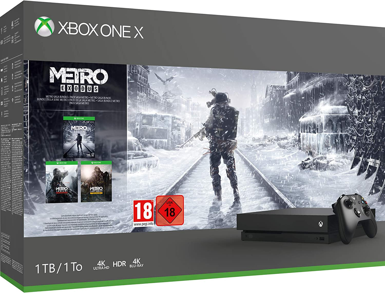 Xbox One X Metro Saga Bundle 1TB - Xbox One [Importación inglesa ...