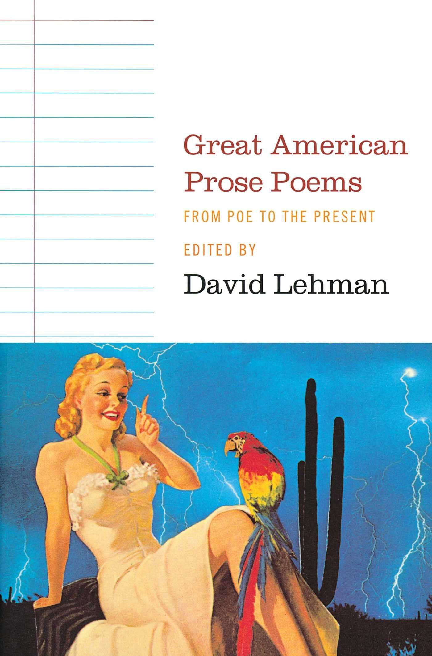 Download Great American Prose Poems: From Poe to the Present ebook