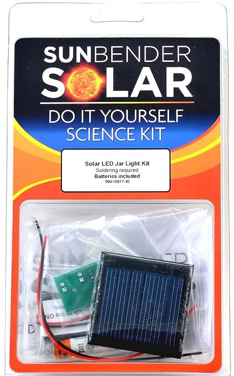 Amazon sunbender do it yourself solar led jar light kit sunbender do it yourself solar led jar light kit yellow leds soldering solutioingenieria Images