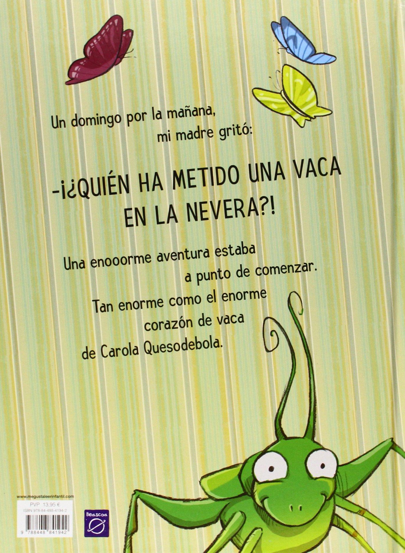 Hay una vaca en la nevera (Cuentos infantiles): Amazon.es: Amaia ...
