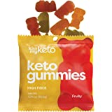 Kiss My Keto Gummies with MCT Oil - Low Carb Candy - Smart Keto Friendly Snacks - Low Sugar & Gluten Free - Only 3g Net…
