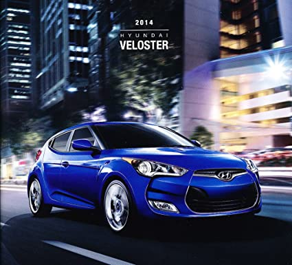 Amazon.com : 2014 Hyundai Veloster Original Car Sales Brochure Catalog : Everything Else