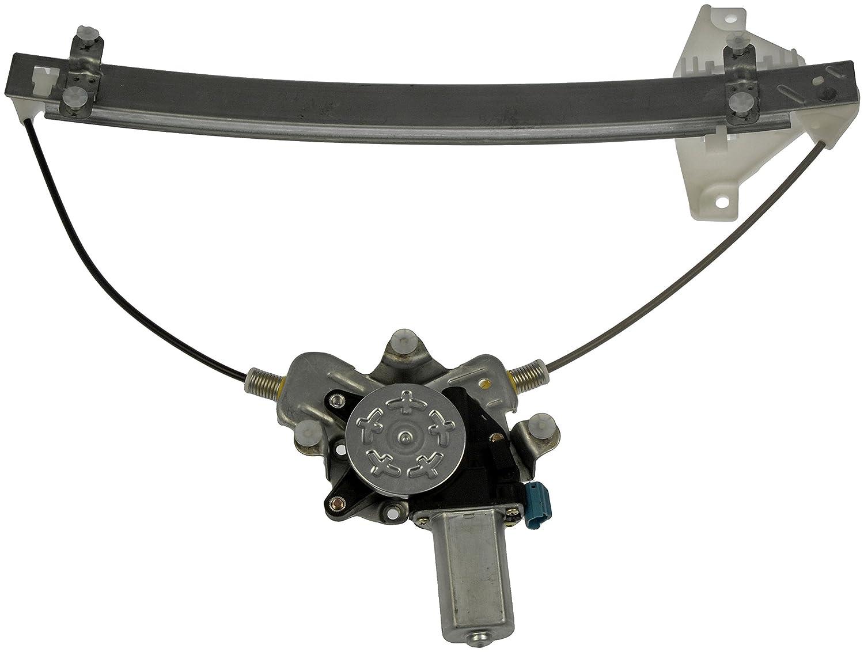 Dorman 741-100 Front Driver Side Replacement Power Window Regulator with Motor for Hyundai Sonata//Kia Optima