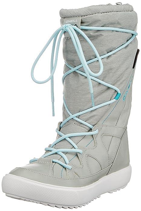 O'Neill Montebella Nylon, Botas de Nieve para Mujer, Gris (Light Gris), 39 EU