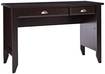 Amazoncom Sauder Shoal Creek Computer Desk Jamocha Wood Finish