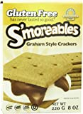 Kinnikinnick Gluten Free S'moreables Graham Style Crackers, 8 Ounce (Pack of 6)