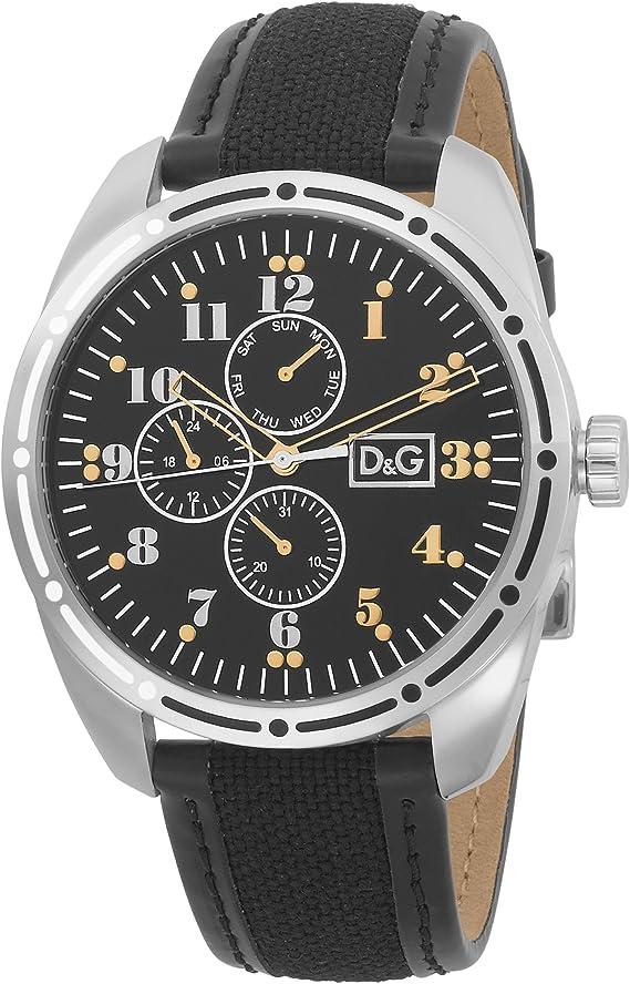 D&G Dolce & Gabbana Men's DW0640 Bariloche Analog Watch: Amazon.co.uk:  Watches
