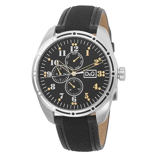 Dolce & Gabbana DW0640 - Reloj de Pulsera Hombre, Color Negro