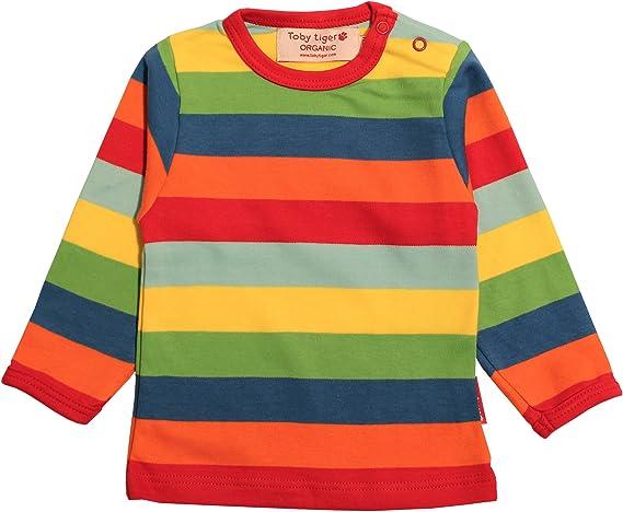 Toby Tiger - Camiseta a Rayas para niño, Talla 1-2 años, Color ...