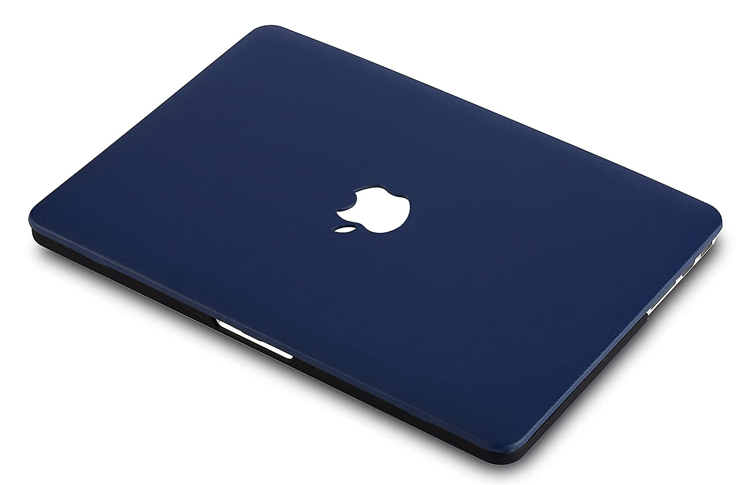 Cuero Azul Marino KECC MacBook Air 13 Pulgadas Funda Dura Case Cover MacBook Air 13.3 Ultra Delgado Cuero {A1466//A1369}