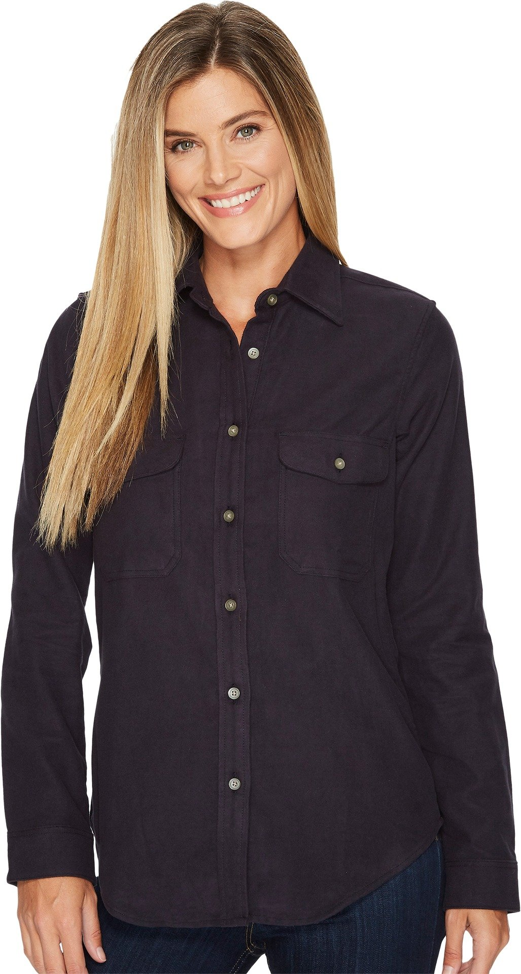 Filson Women's Moleskin Shirt Navy X-Large