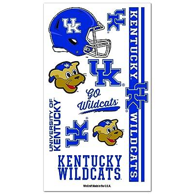 WinCraft NCAA University of Kentucky 13877041 Tattoos : Body Paint Makeup : Sports & Outdoors