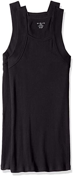 a63777fbc4f48 2(X)IST Evolve Men s Cotton Comfort Square Cut Tank Multi Pack Underwear at  Amazon Men s Clothing store