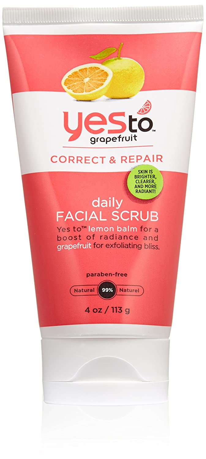 Yes to Grapefruit Daily Facial Scrub, 4 Ounce boi-opp-klo-uyi4952