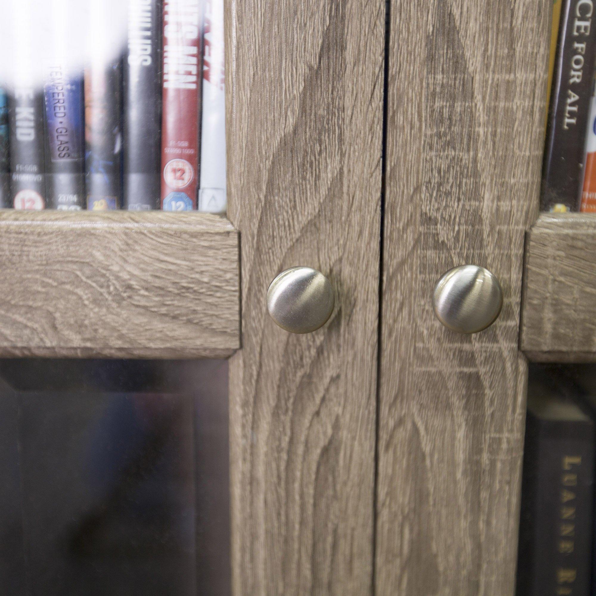 WE Furniture 41'' Wood Media Cabinet - Driftwood by WE Furniture (Image #6)