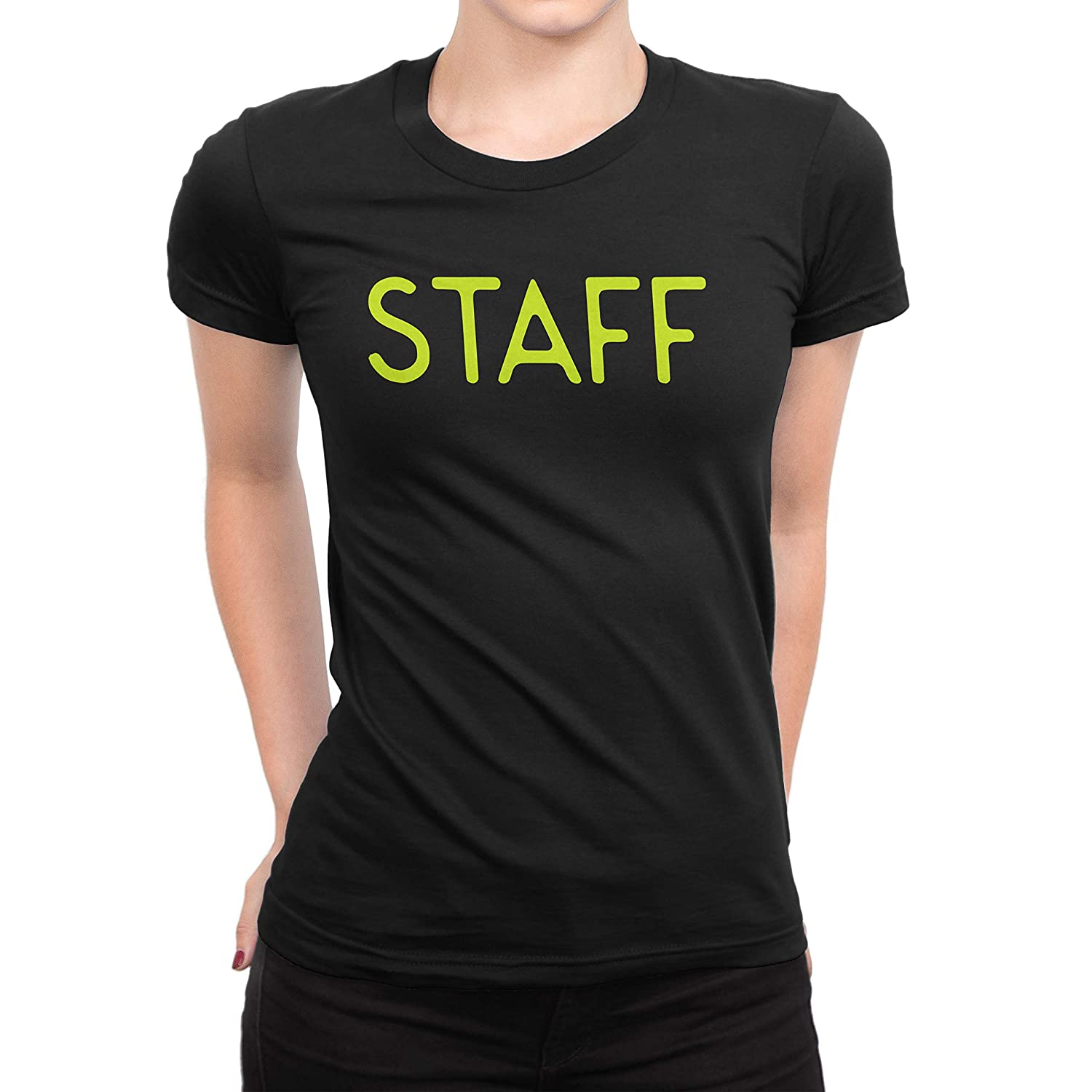 Amazon Nyc Factory Staff T Shirt Ladies Screen Printed Tee