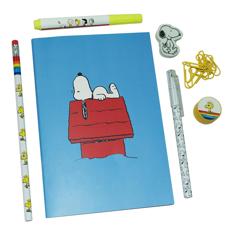 Snoopy Evidenziatore Peanuts Classic Collection Quaderno Esercizio Super Stationery Set