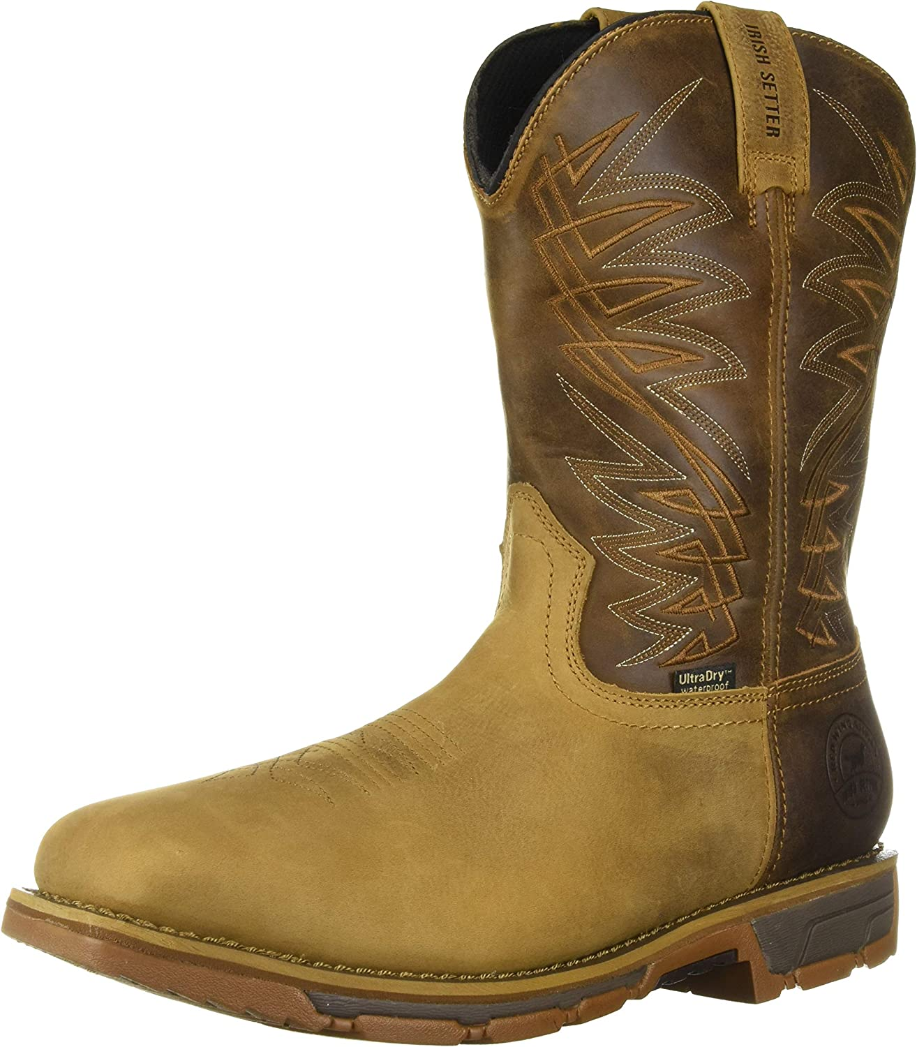 """Red Wing Irish Setter 83905 11/"""" slip on soft toe EH Rated"""