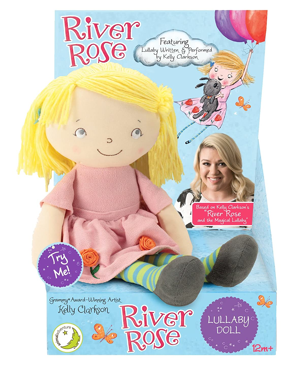 Amazon.com: River Rose Lullaby Doll by Kelly Clarkson: Toys & Games
