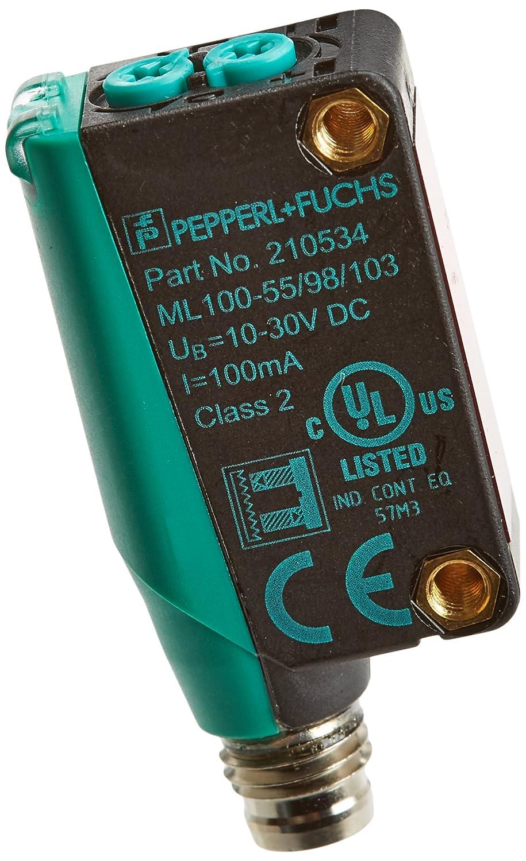 Pepperl+Fuchs 210534 Modelo ML100-55/98/103 Sensor Óptico de Barrera por Reflexión: Amazon.es: Industria, empresas y ciencia