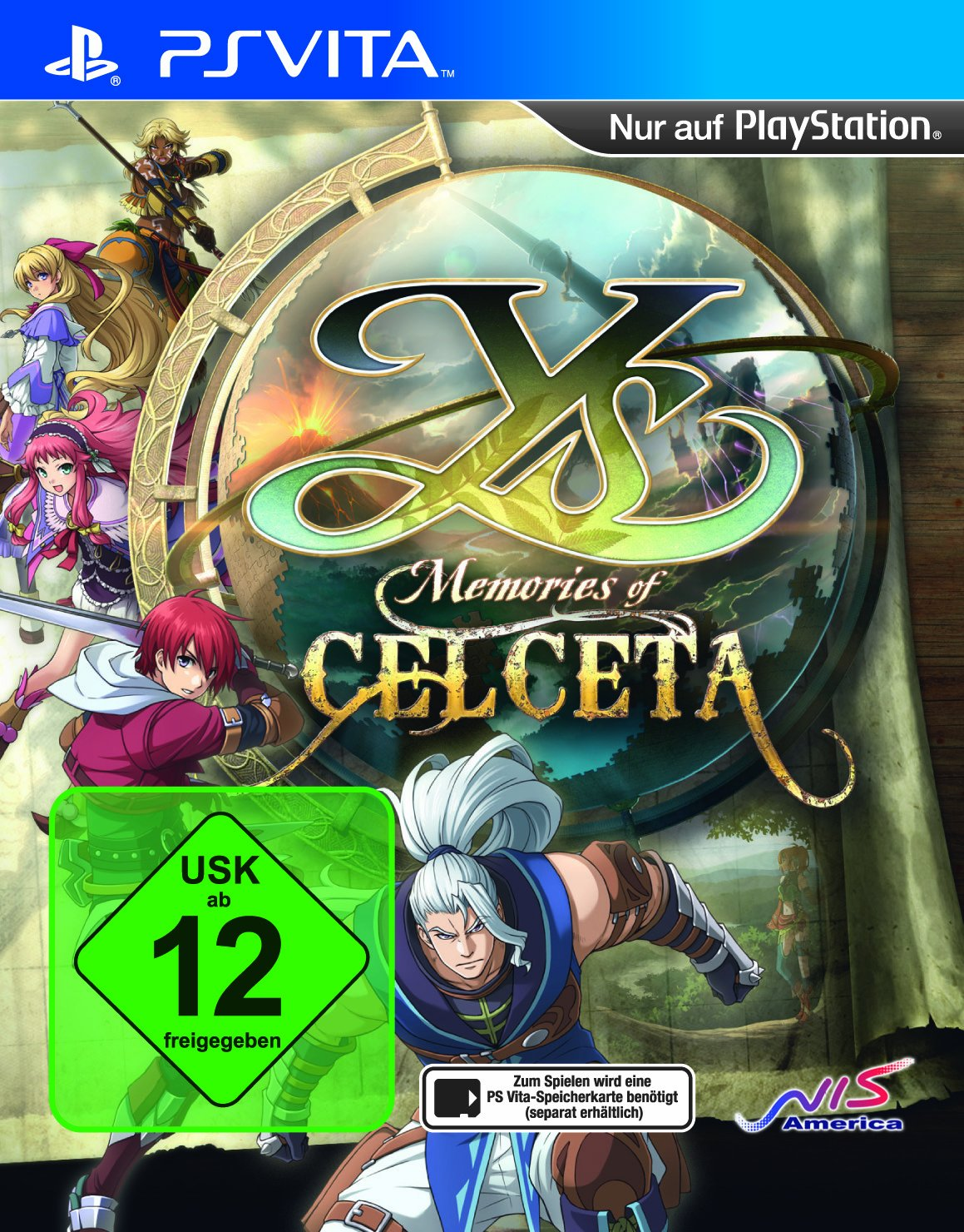 Y's: Memories of Celceta, PS Vita