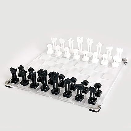 Buy Galliard Games Chess (Sacrosanct) Black and White