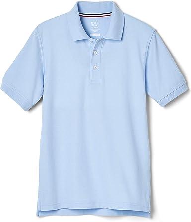 French Toast Long Sleeve Pique Polo Boys Blue
