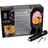 Molecule-R - Gin & Tonic Molecular Gastronomy Cocktail Kit + Free Culinary Syringe - GIN & TONIC R-EVOLUTION