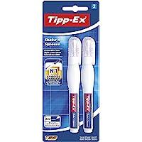 BIC Tipp-Ex Shake'n Squeeze - Blíster de 2 bolígrafos correctores líquidos, 8 ml