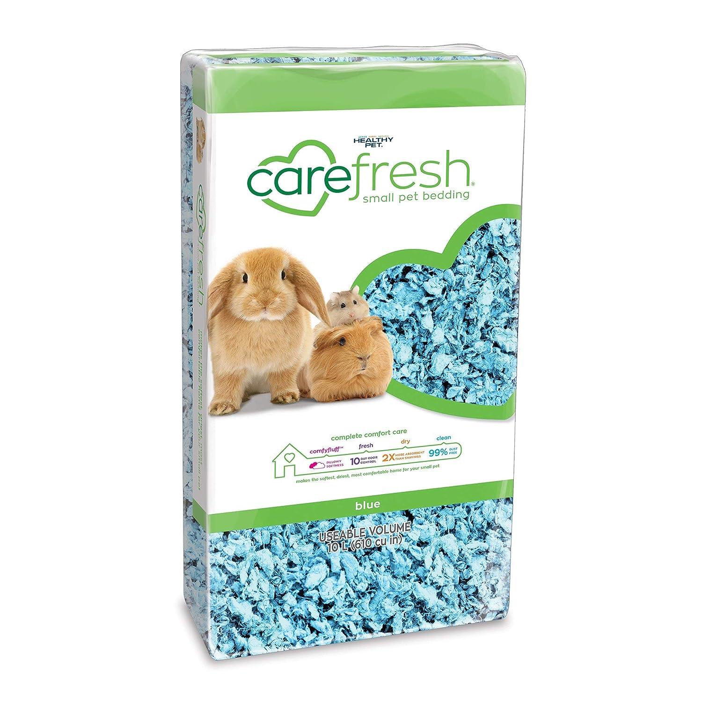 Carefresh Blue Small Pet Bedding, 10 Liter