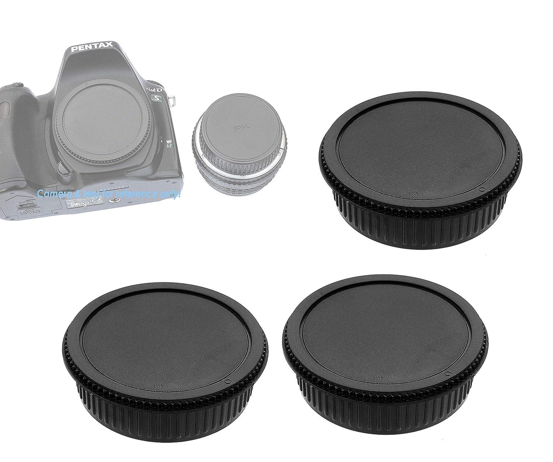 Canon Lens Rear Caps Fotasy Rear Lens Cover for Canon EF EFs Lenses 5 Packs Canon Lens Rear Cap