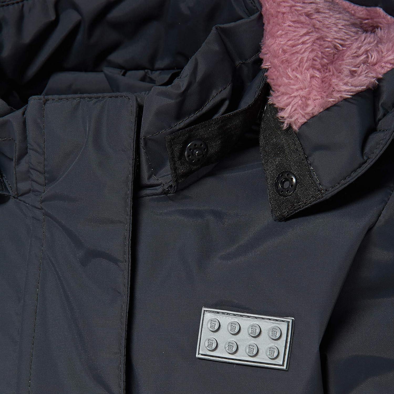 LEGO Wear Kids /& Baby Fleece-Lined Waterproof /& Windproof Snow//Ski Jacket with Detachable Hood and Reflective Detail