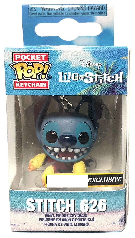 Amazon.com: Funko Pocket Pop! Lilo and Stitch Keychain ...