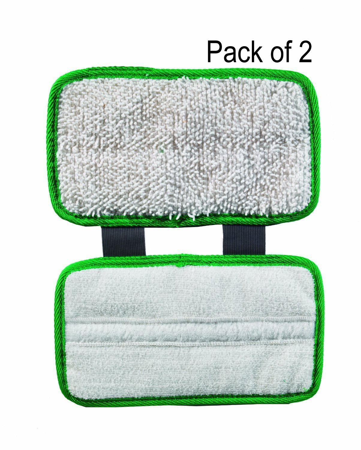 ESC Replacement Pads (2pc pack) for Shark Sonic Duo Wood & Hard Floor Microfiber Clean Screen/Glasses Cloth