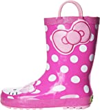 Western Chief Kids' Hello Kitty Waterproof Character Rain Boots with Easy on Handles