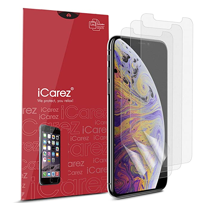 Icarez Hd Anti Glare Matte Screen Protector For Iphone 11 Pro Max Iphone Xs Max 6 5 Inch 3 Pack Case Friendly Premium No Bubble Easy To Apply