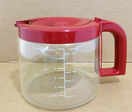 Marca nueva KitchenAid 14-cup jarra de Cafetera eléctrica (rojo ...
