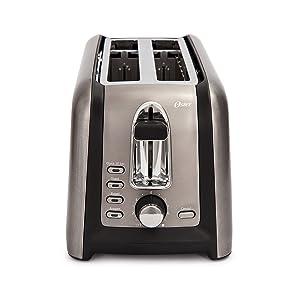 Oster TSSTTRGM4L Black Stainless Toaster,