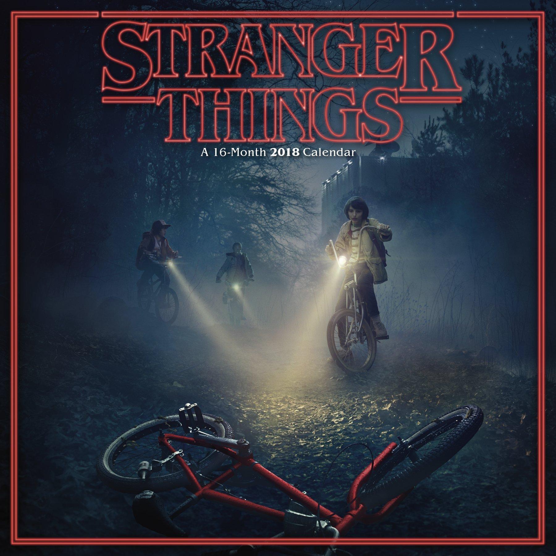 Stranger Things 2018 16-Month Wall Calendar: Trends ...