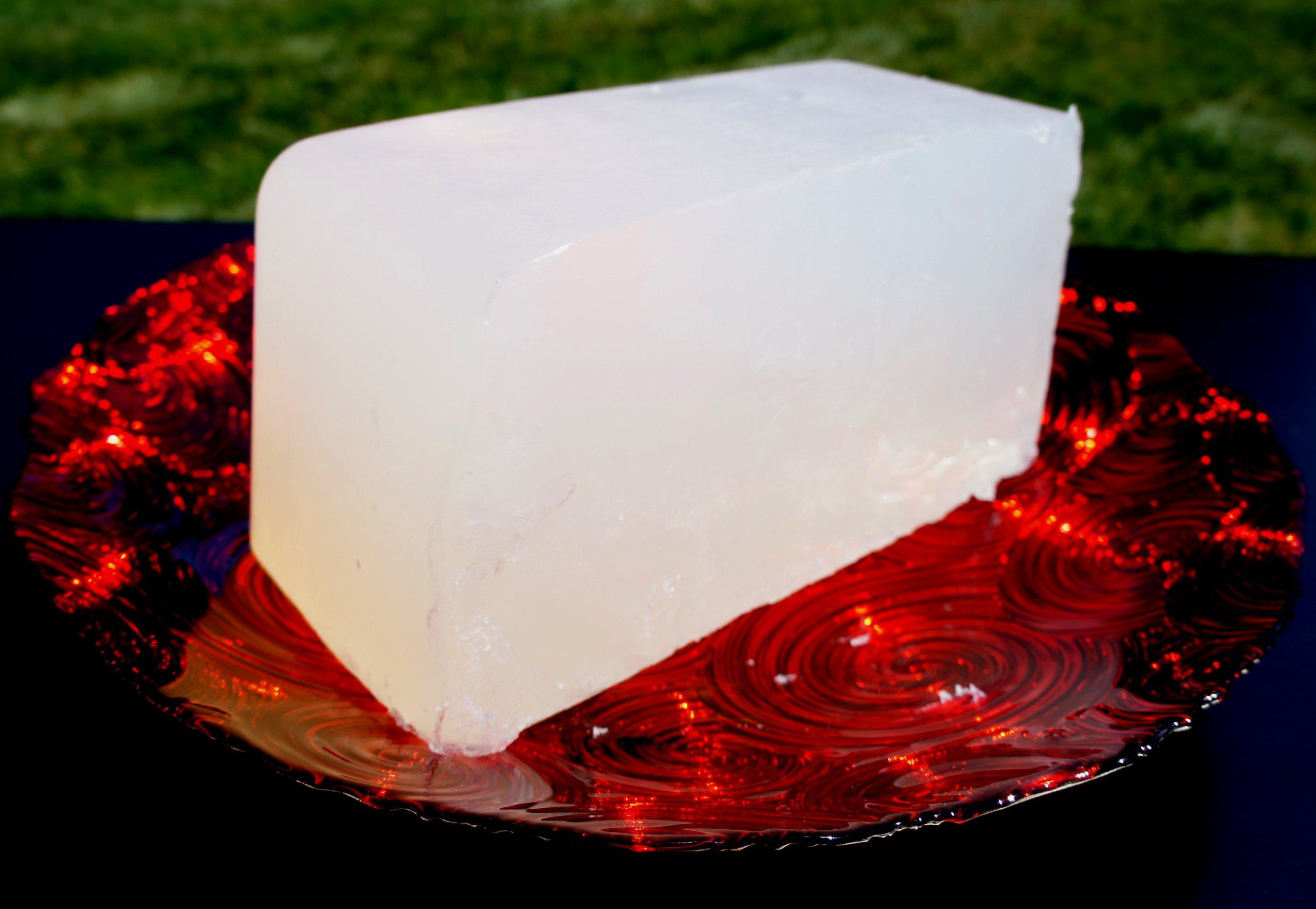 Ultra Clear Transparent Organic Glycerin Melt & Pour Soap Base Premium Natural 100% Pure 10 LB