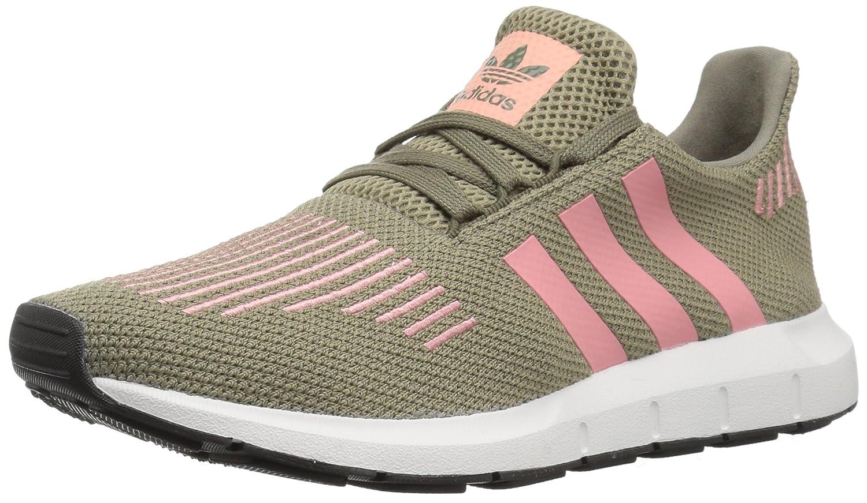 adidas Women's Swift Run W B01NBKO3HG 5.5 B(M) US|Trace Cargo/Trace Pink/Crystal White