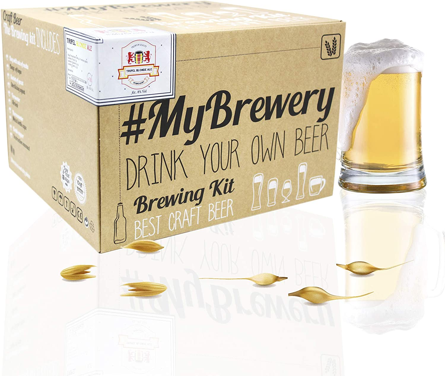 #Cervezanía Kit MB Tripel.