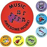175 Music Awesome Work Reward Praise Stickers